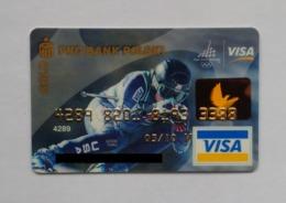 Poland Pologne PKO Gold Visa Card Banque Carte Ski Winter Olympics Jeux Olympiques D'hiver Turin Torino 2006 - Geldkarten (Ablauf Min. 10 Jahre)