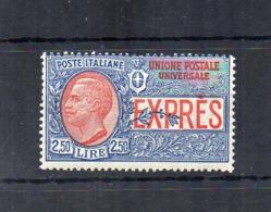 Italia - Regno - 1925/26 - Espresso Da 2,50 Lire - Nuovo ** - (FDC18422) - 1900-44 Victor Emmanuel III.