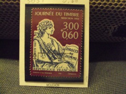 "1990-99 Timbre Oblitéré N°  3051    "" Journee Du Timbre 3.00 + 0.60      ""    Net     0.60 - Used Stamps"