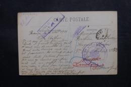 FRANCE - Carte Postale De Besançon Pour Prisonnier De Guerre Français à Limburg En 1916 - L 47458 - Poststempel (Briefe)