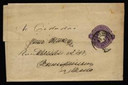A6408) Brasilien Brazil 2 Streifbänder Wrapper Um 1890 Gebraucht - Briefe U. Dokumente