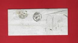 1848 SUR PARTIE  LAC Des Forges De Salles  Pontivy => Marié Directeur Des Forges De Port Brilllet La Gravelle MayennE - Postmark Collection (Covers)