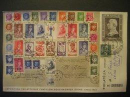 Frankreich- Reco FDC Beleg 88. Geburtstag Marschall Petain, Mi.Nr. 619 No. 2771 - Frankreich