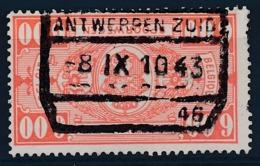 """TR 251 - """"ANTWERPEN-ZUID Nr 46"""" - Franse Tekst Gewist/tekst Français Limé - (ref. 29.779) - Chemins De Fer"""