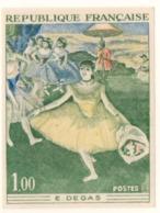Série Artistique Edgar Degas Essai Multicouleurs YT 1653 De 1970  Sans Trace De Charnière Cote 125 € - France