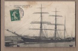 CPA 17 - LA PALLICE LA ROCHELLE - Trois Mâts - Trois-Mâts Ochtertyre - SUPERBE PLAN VOILIER Bâteau 1908 - La Rochelle