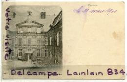 - VERDUN - (Meuse ), Hôtel De Ville, Avant L'incendie Du 18 Sept 1901, Précurseur, écrite, BE, Scans. - Verdun