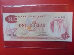 GUYANA 1$ 1966-92 PEU CIRCULER/NEUF (B.9) - Guyana
