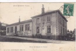 Vosges - Saint-Etienne -  Ecole De Garçons Et Mairie - France