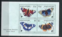 Singapour ** Bloc N° 65A - Papillons - Singapore (1959-...)