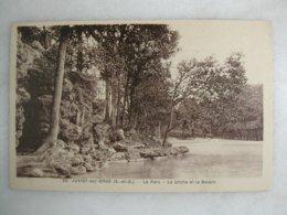 JUVISY SUR ORGE - Le Parc - La Grotte Et Le Bassin - Juvisy-sur-Orge