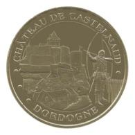 Monnaie De Paris , 2014 , Castelnaud La Chapelle , Le Château , L'archer - Monnaie De Paris