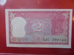 INDE 2 RUPEES PEU CIRCULER/NEUF (B.9) - India