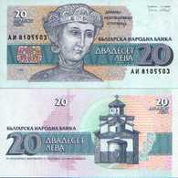 Bulgarie - Bulgaria 20 LEVA 1991 - Pick 100 NEUF (UNC1 - Bulgaria