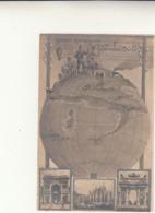 Cartolina - Ricordo Esposizione Di Milano - Sempione 1906 Non Viaggiata. Foro A Lato - Ausstellungen