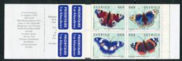 Suède ** Carnet C2107 - Papillons - Booklets
