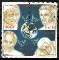 Brazil 1998 Brasil / Peace & Fraternity Teresa Of Calcutta MNH Paz Y Fraternidad Teresa De Calcuta / Cu15031  40-11 - Mutter Teresa