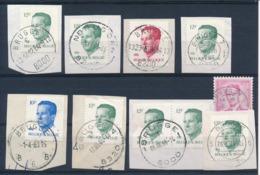 """BELGIE - Diverse Stempels  """"BRUGGE"""" - (ref. GW-21) - 1981-1990 Velghe"""