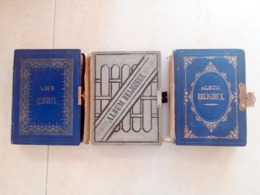 3 Albums Religieux Vides Pour Images Pieuses Ou Canivets. Voir Toutes Les Photos. Album, Image Pieuse  (114580-81-82) - Images Religieuses