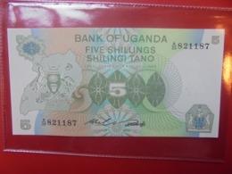 OUGANDA 5 SHILLINGS 1982 PEU CIRCULER/NEUF (B.9) - Oeganda
