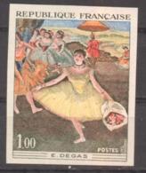 Série Artistique Degas YT 1653 De 1970 Sans Trace De Charnière - France