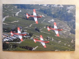 PILATUS  PC-7    FORCES  AERIENNES  SUISSES - 1946-....: Era Moderna