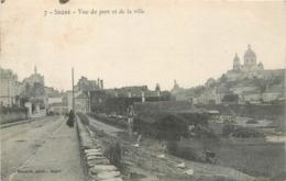 CPA 49 Maine Et Loire Segre Vue Du Port Et De La Ville - Segre