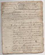 Eure Acte De 24 Pages La Chapelle Gauthier , La Vespierre , Bernay ,  St Jean De Thenney An 5 - Manuscripts