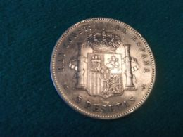 5 Pesetas 1898 - Colecciones