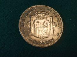 5 Pesetas 1888 - Colecciones