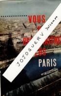 Extrait Du Journal La Vie : Paris Plan Du Nouveau Visage, Paris En L'an 2000 ;4 Pages 3 Photos ( Danièle Gaubert Vedette - Kranten
