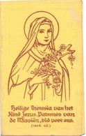 Kalender Calendrier - 1947 - Devotie Heilige Theresia - Ste Thérèse - Calendriers