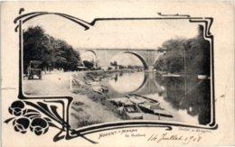 94 Nogent Sur Marne : Le Viaduc (coupure Milieu Gaucheet Pli à Droite) Edition VERCHER - Nogent Sur Marne