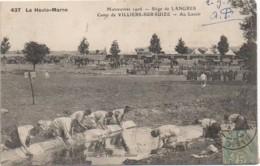 52 Manoeuvres 1906 - Siège De LANGRES -Camp De VILLIERS-sur-SUIZE  - Au Lavoir - Altri Comuni