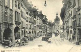 Bern Rue Attelages Trams   RV Cachet Flamme - BE Berne