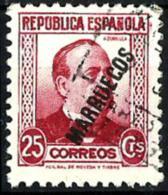 Tánger Nº 76 En Usado - Marruecos Español