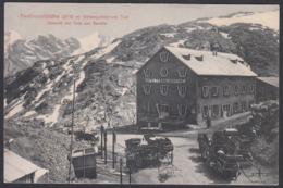 Italia  - Passo Dello Stelvio, Stilfserjochstrasse, Hotel Ferdinandshöhe - Bolzano (Bozen)