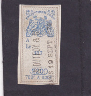 T.F. Effets De Commerce N°219 - Revenue Stamps