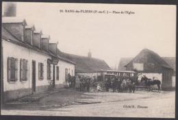 CPA 62 -  RANG Du FLIERS, Place De L'Eglise - Francia