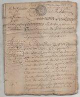 Eure Acte De 36 Pages La Chapelle Gauthier , La Vespierre , Bernay ,  St Jean De Thenney An 5 - Manuscripts