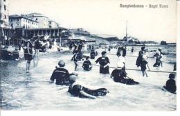 ITALIA - SANPIERDARENA (genova) - Bagni Roma, Ben Animata, Viag. 1926 - 2019-1-314 - Genova (Genoa)