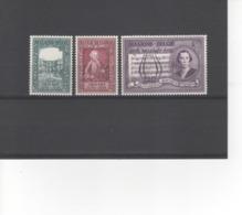 BELGIE - 1956 - 200E VERJAARDAG GEBOORTE WOLFGANG AMADEUS MOZART - Belgium