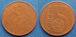 BELARUS - 5 Kopeks 2009 KM#563 Independent Republic Since 1991 - Edelweiss Coins - Belarus