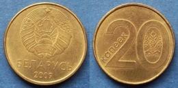 BELARUS - 20 Kopeks 2009 KM#565 Independent Republic Since 1991- Edelweiss Coins - Belarús