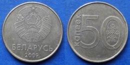 BELARUS - 50 Kopeks 2009 KM#566 Independent Republic Since 1991- Edelweiss Coins - Belarús