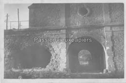 CARTE PHOTO ALLEMANDE FORT De BRIMONT 1917 CASEMATE ? - Frankrijk