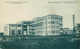 """USINE DE FENOUILLET - Vue Générale (nord); Saucisson """"Mireille"""". - Other Municipalities"""