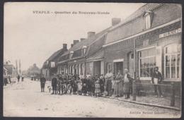 CPA 59 - STAPLE, Quartier Du Noveau Monde - Francia