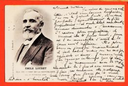 Nw070 EMILE LOUBET Elu Président REPUBLIQUE 18 Février 1899 à Mlle MILHAU Rue Fagerie Castres- Helio DUVAL LE DELEY ELD - Personnages