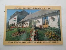 NEXON  Bar Restaurant - Autres Communes